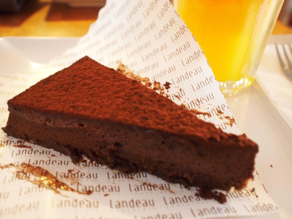 Hotspot lissabon Landeau chocolade taart