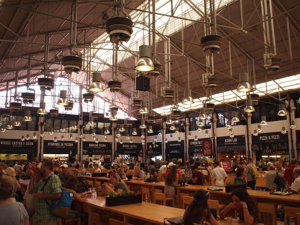 Time Out Market Food Market Lissabon hotspot