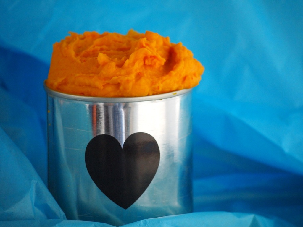 Canned pumpkin puree pompoenpuree