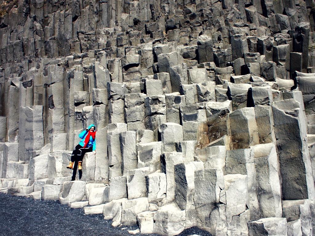 Reisverslag IJsland basalt colums
