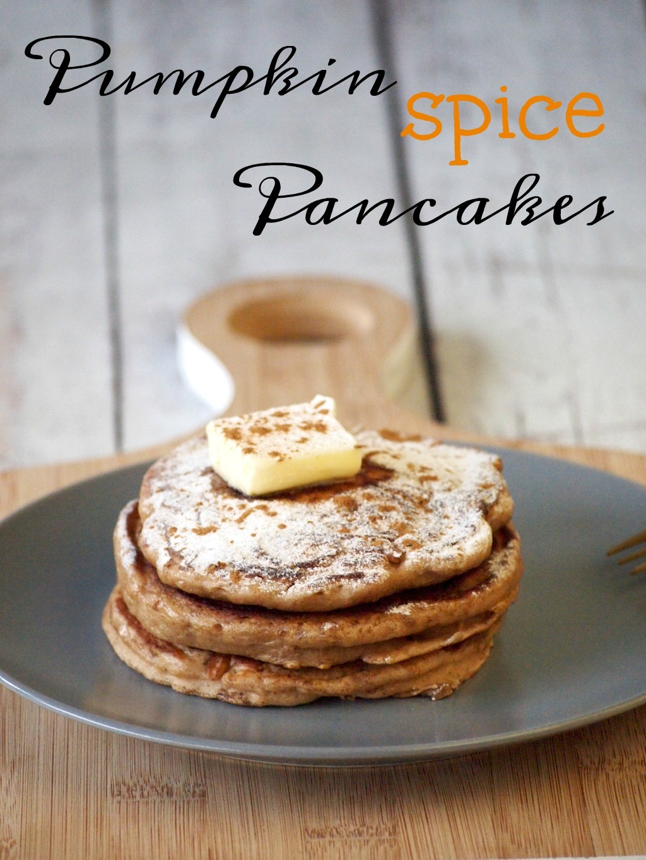 Herfst pancakes met pumpkin spice