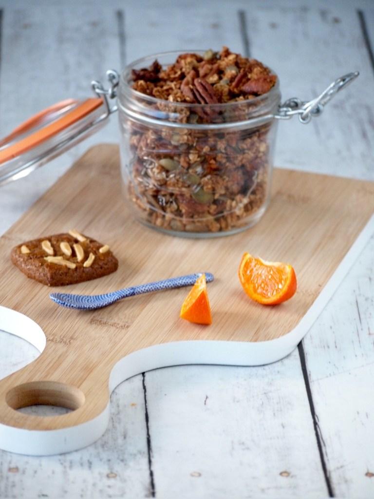 Recept Speculaas muesli Granola ontbijt