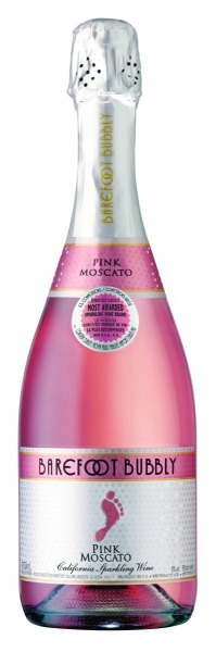barefoot rose bubbels
