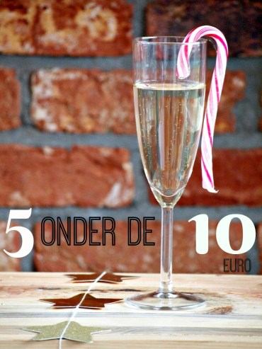 5 bubbels onder de 10 euro