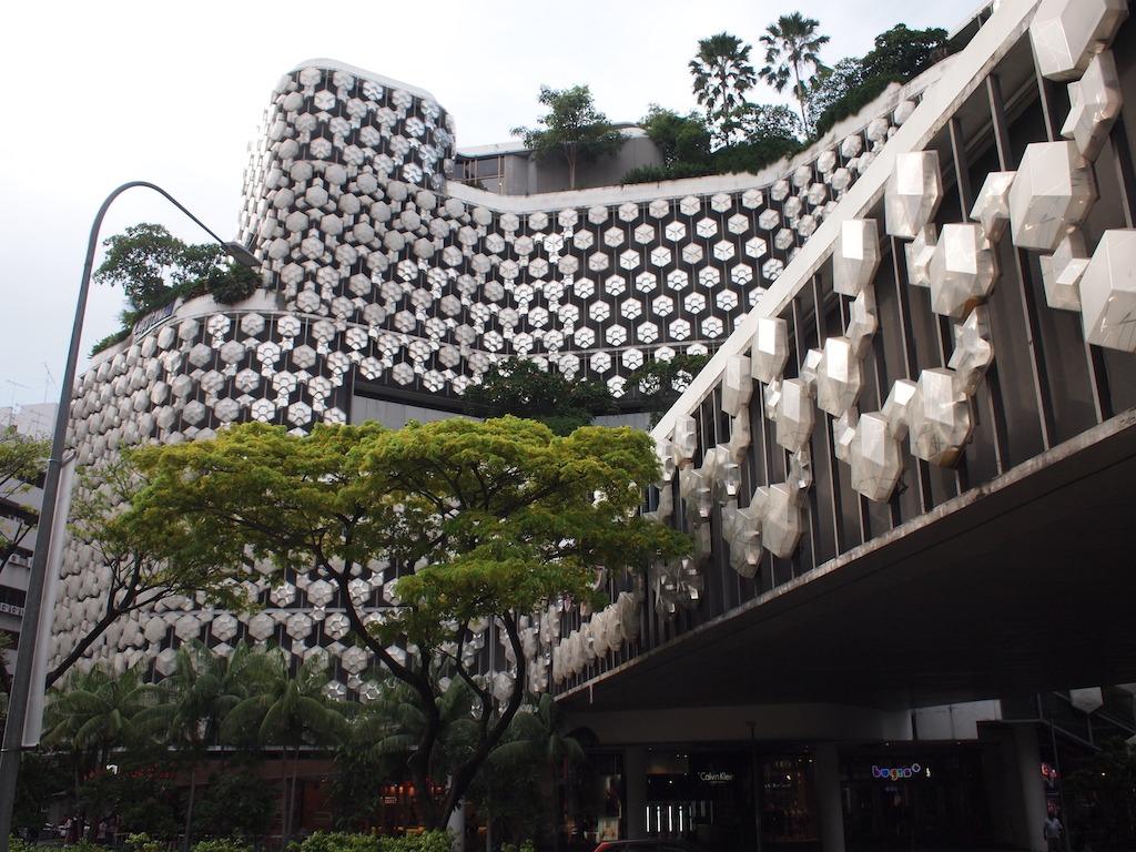 Prachtige gebouwen in Singapore