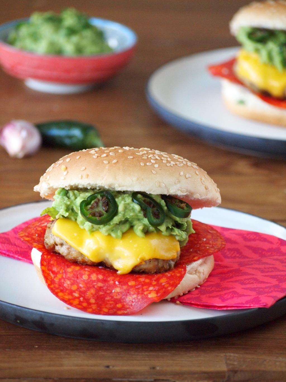 Mexicaanse kipburgers