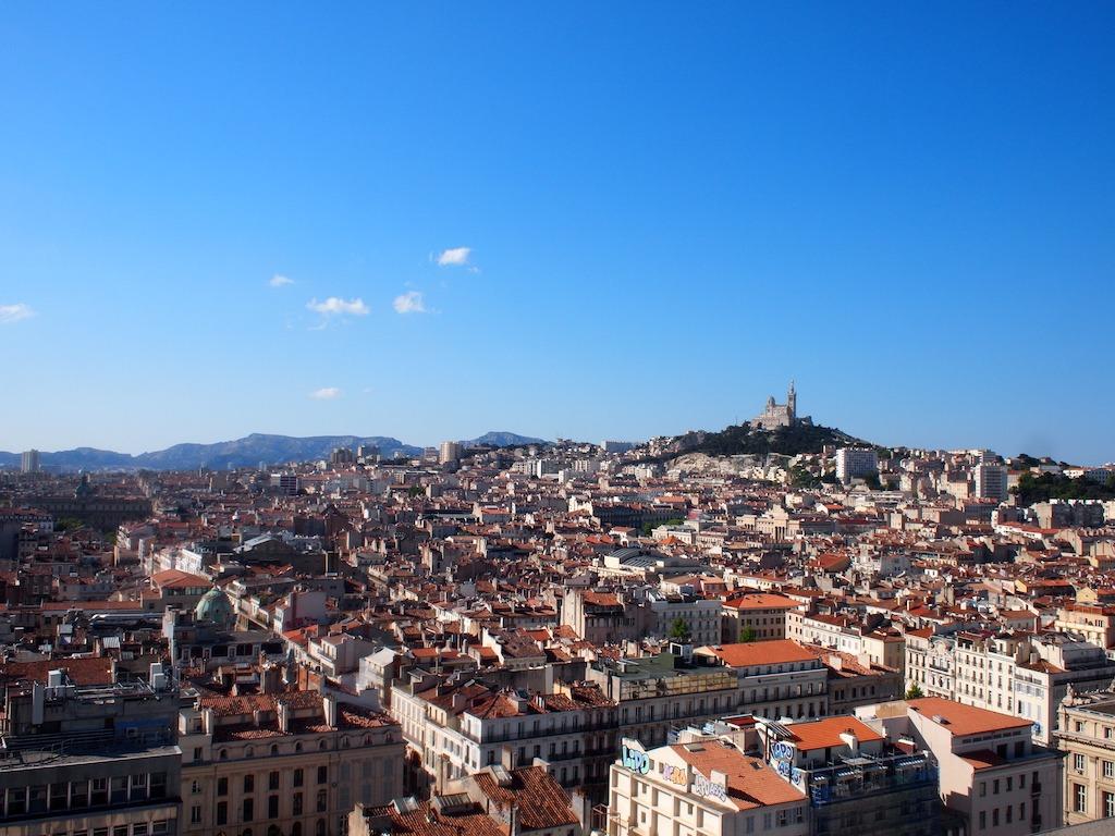 Overnachten met uitzicht over Marseille