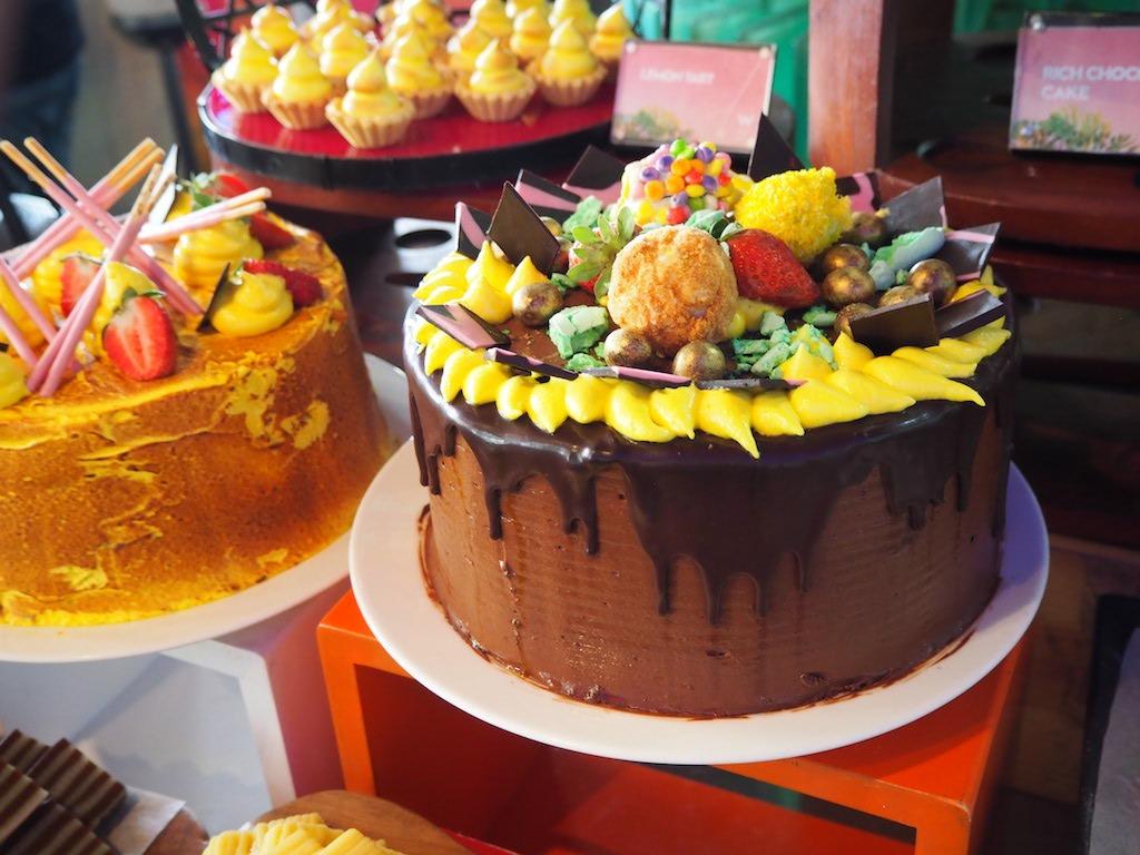 Fantastische chocolade taart seminyak sunday brunch