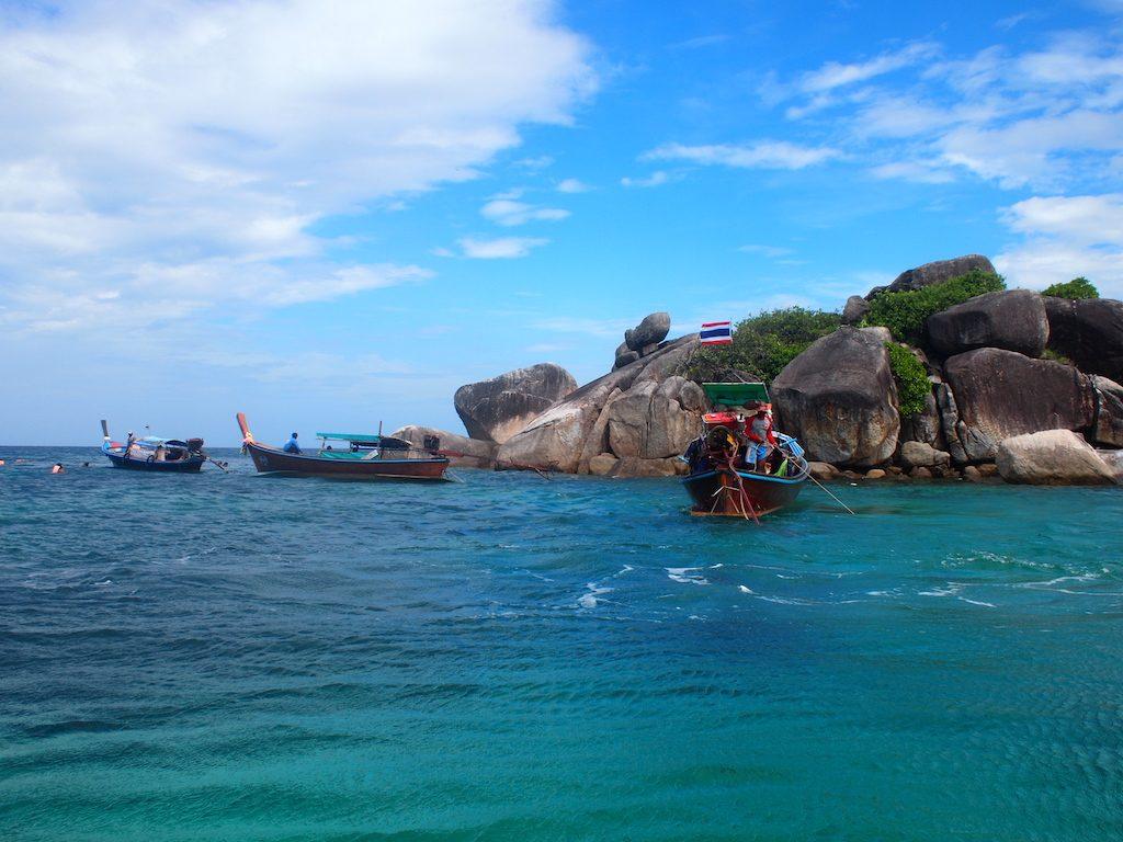 Snorkelen route zuid thailand