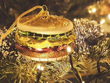 Eetbare kerstcadeau's