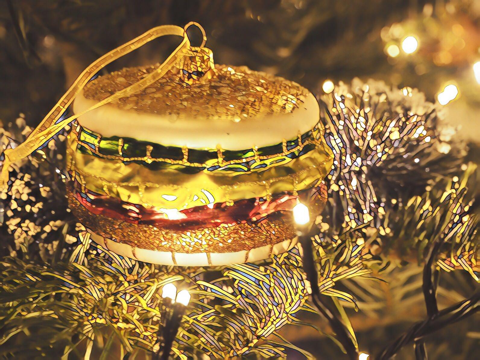 eetbare kerstcadeautjes