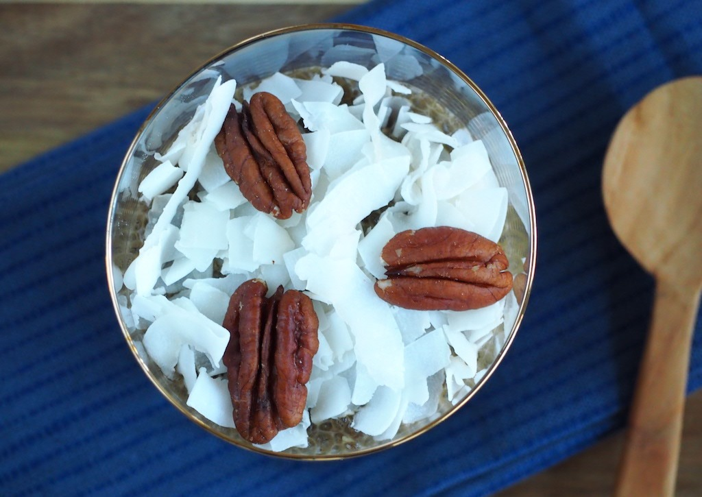 Chai chiazaad pudding ontbijt
