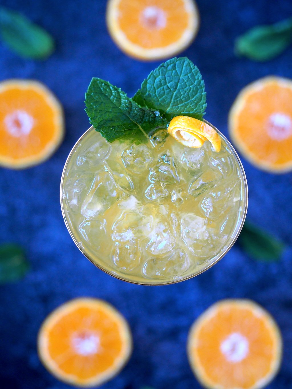 Mandarijn mojito zomer cocktail