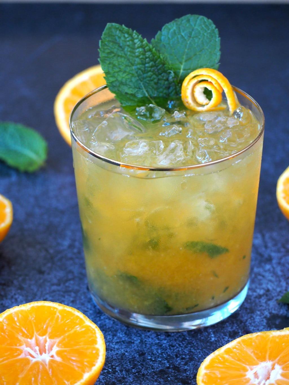 Mojito met mandarijnsap