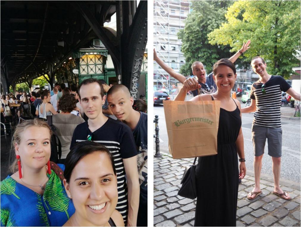 Superblij met burgers van burgermeister Berlijn