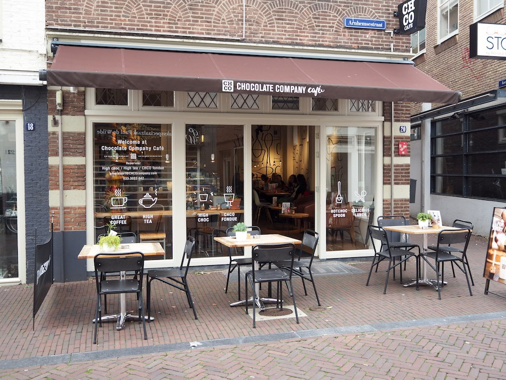 Locatie chocolate company Amersfoort
