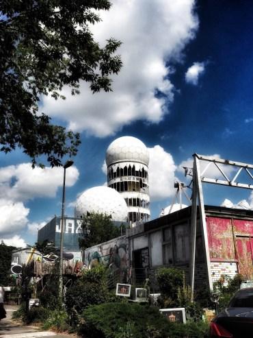 Teufelsberg verlaten gebouwen Berlijn