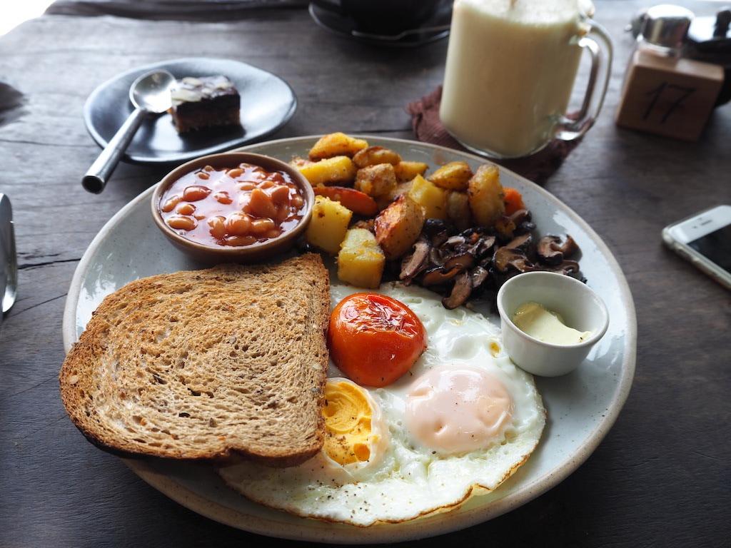 Koh Tao ontbijt en lunch