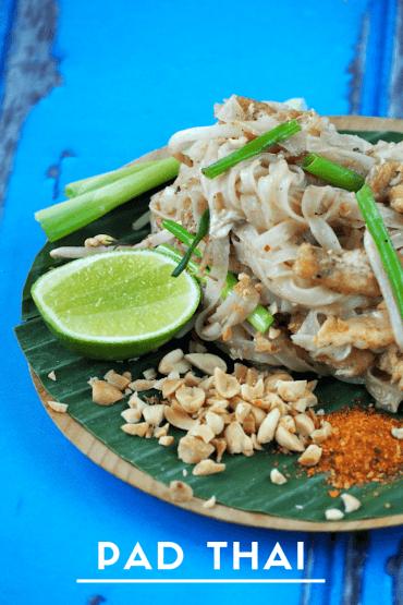 Echte Pad Thai zoals in Thailand