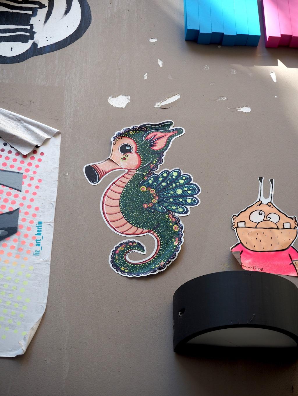 streetart gevonden in hamburg