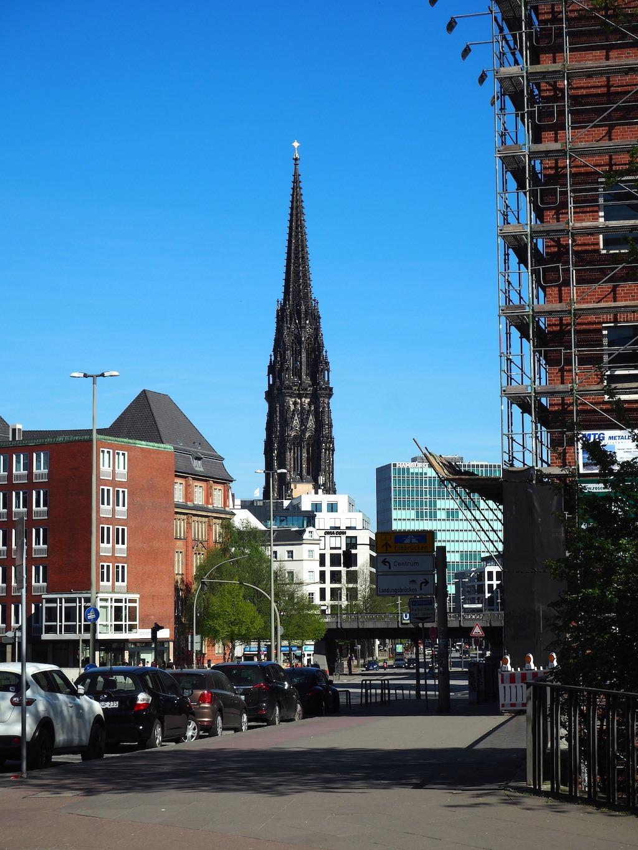 Kerk toren hamburg