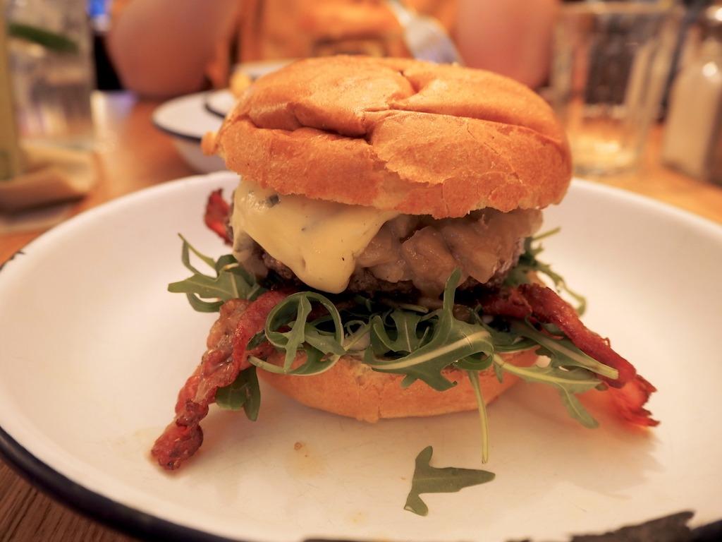 Otto's Hamburger restaurant Hamburg