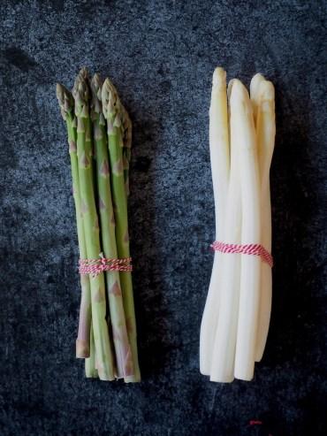 Verschil groene en witte asperges