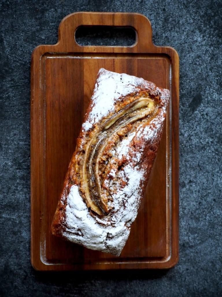 Pompoen Bananen brood met speculaaskruiden