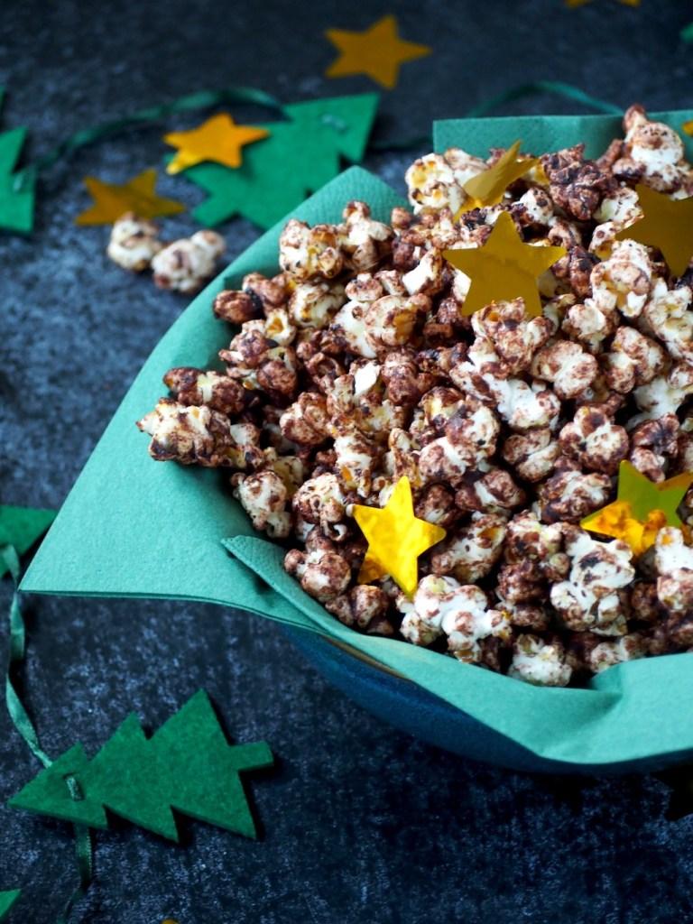 Kerst popcorn zoet