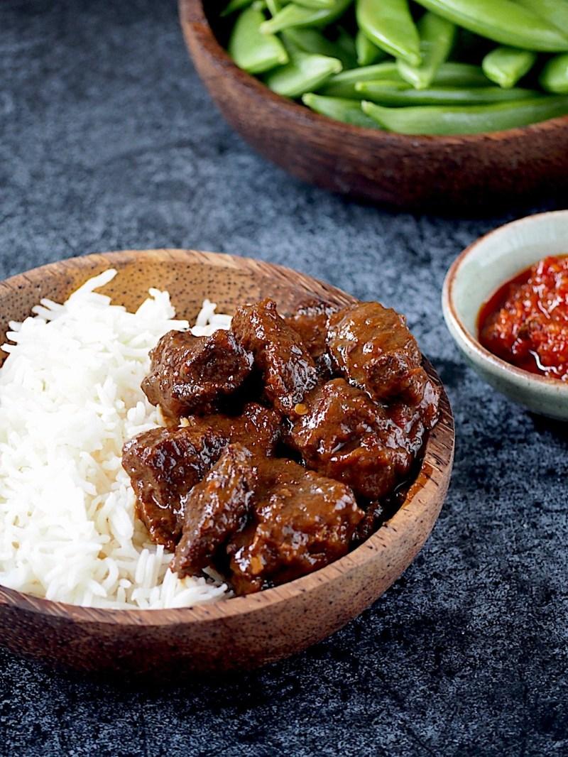 Daging Smoor rundvlees