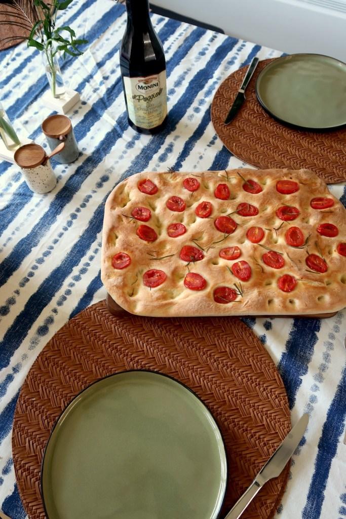 Focaccia brood maken