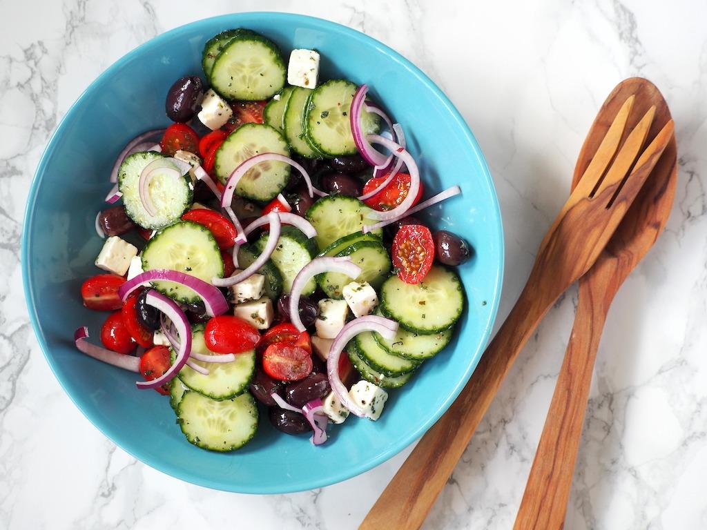Koolhydraatarme Griekse Salade
