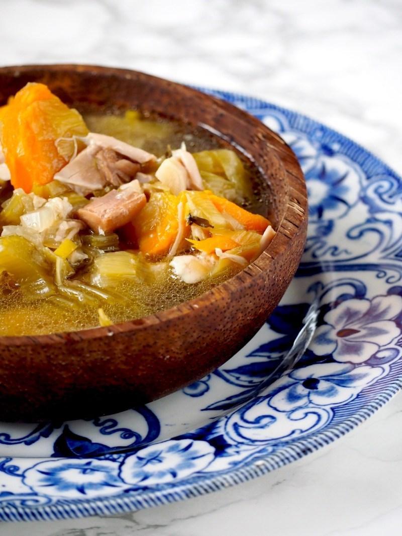 Instant pot Kippensoep