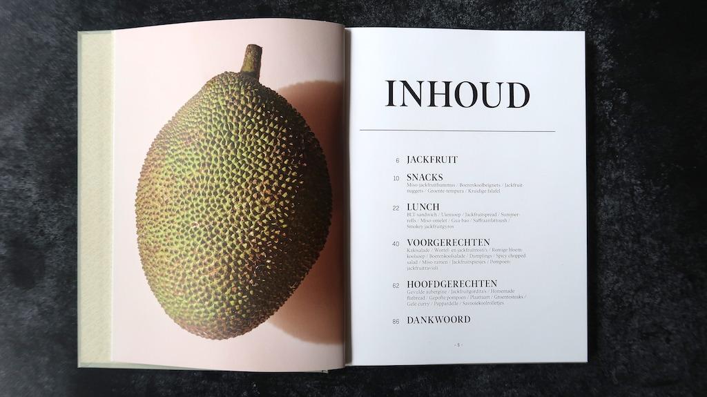kookboek Jackfruit inhoud