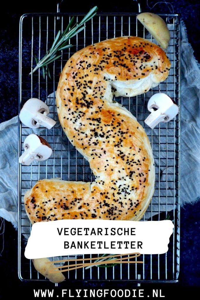 Vegetarische banketletter pin