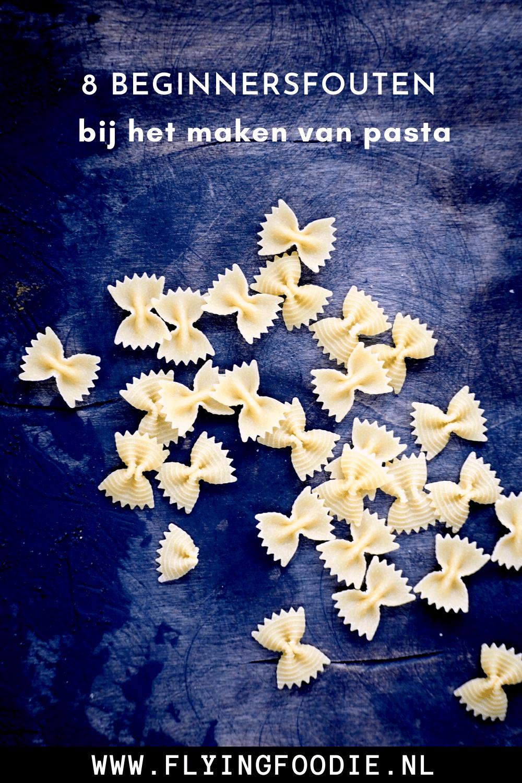 8 beginnersfoutenbij het maken van pasta