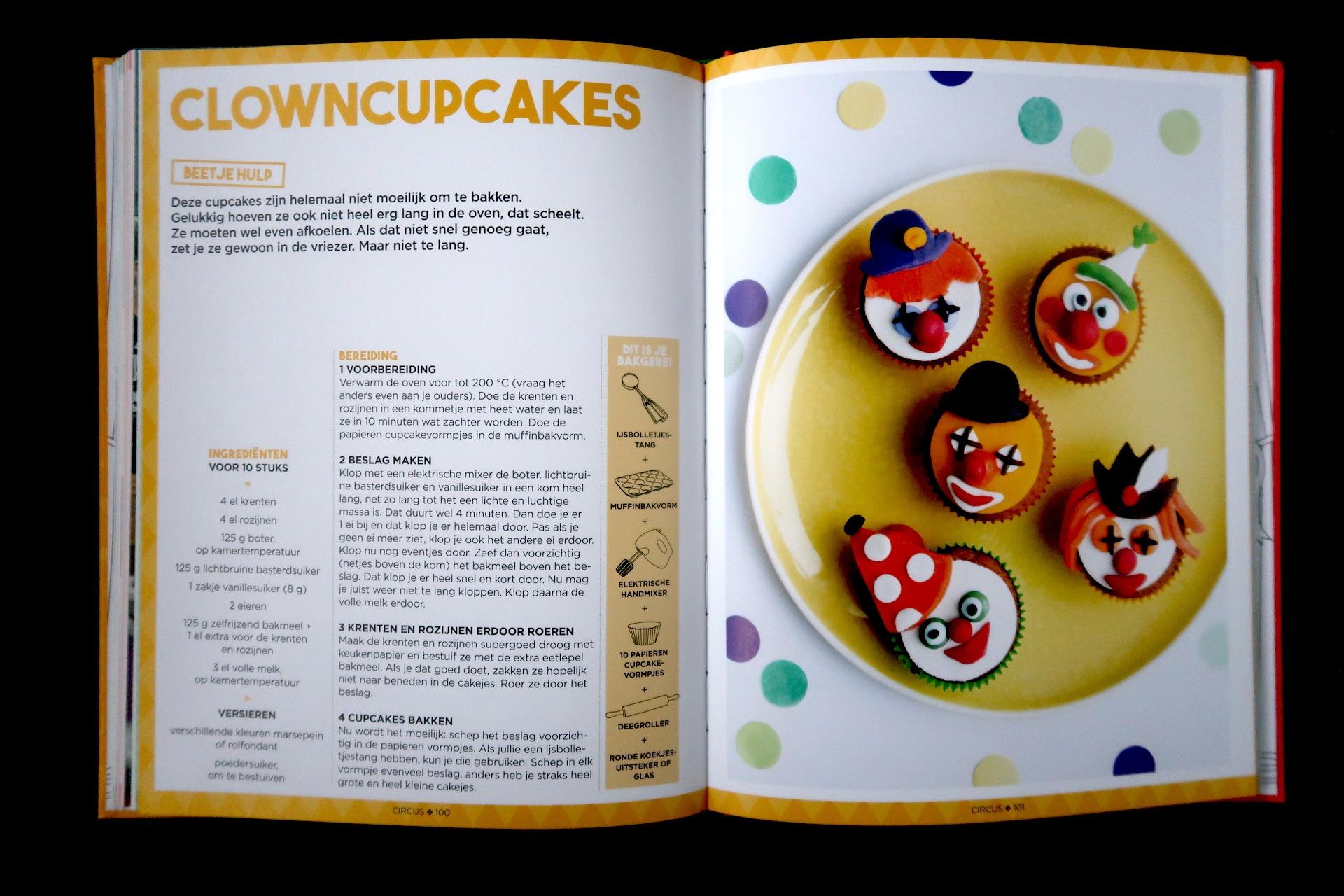 HHB kinderbakboek cupcakes