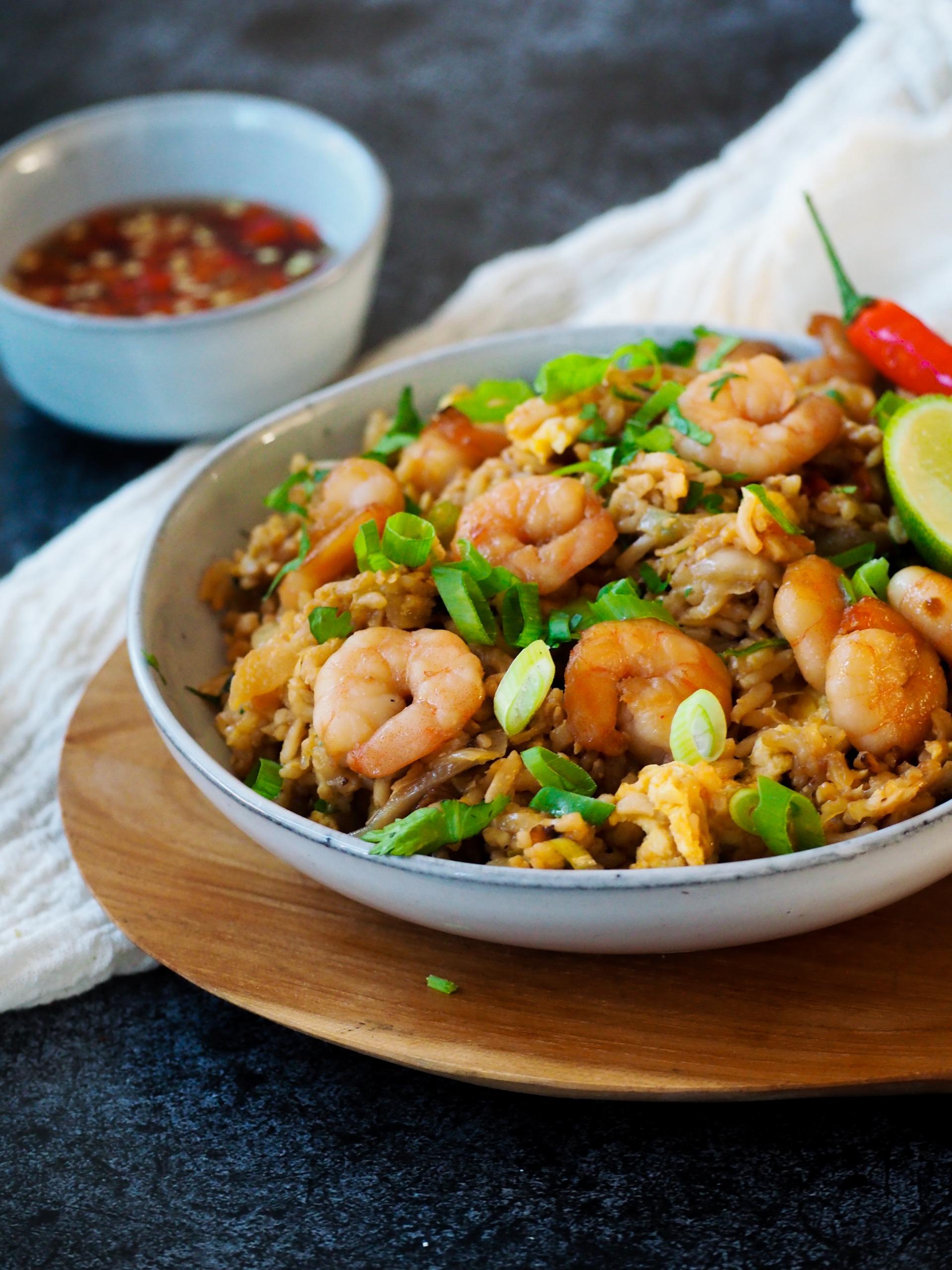 Thai Fried Rice met garnalen