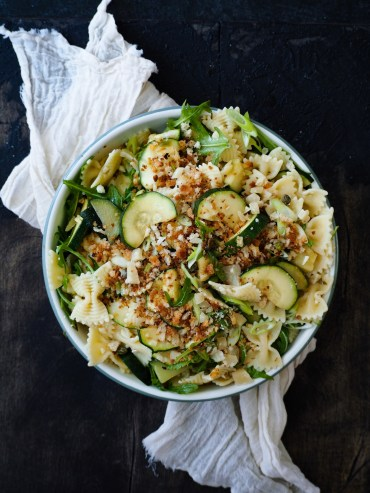 Pastasalade Courgette