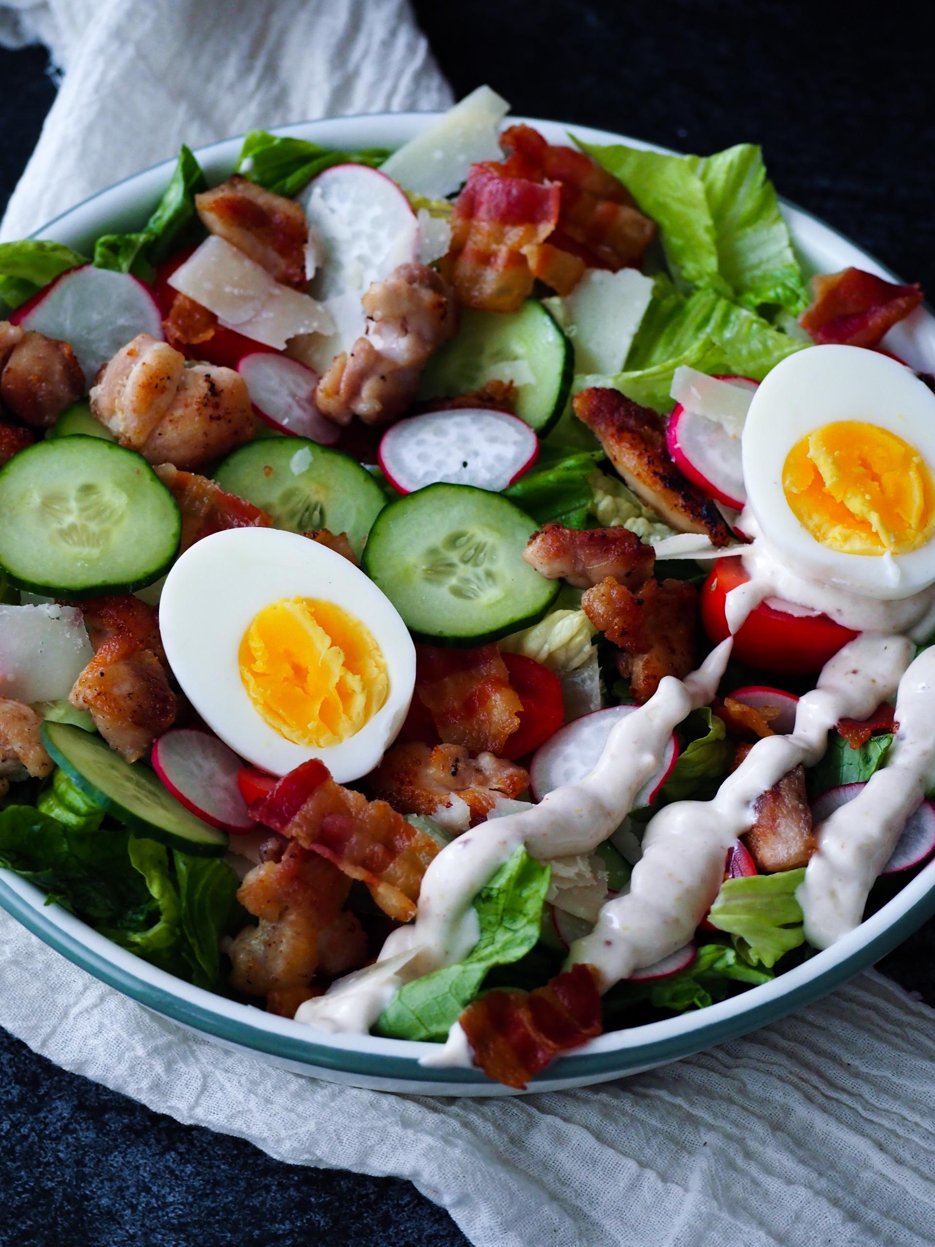 Ceasar salad dressing