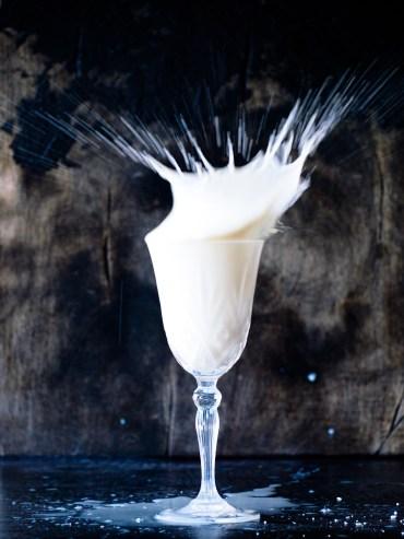Koemelk en plantaardige melk