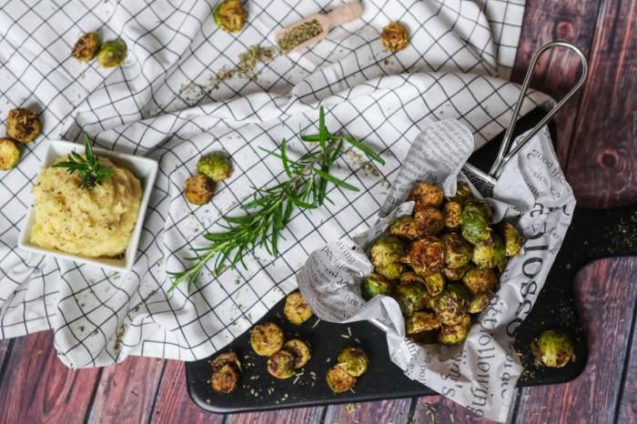 Gerösteter Rosenkohl aus dem Ofen, super einfach & wirklich lecker