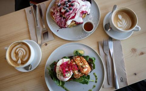 Essen in Köln, Cologne, Food Guide, Kaffesaurus
