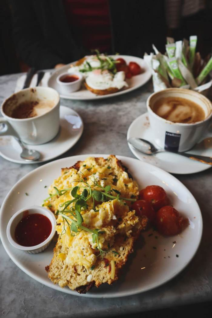 Frühstück, Brunch in Dublin, Food Guide, Queen of Tarts