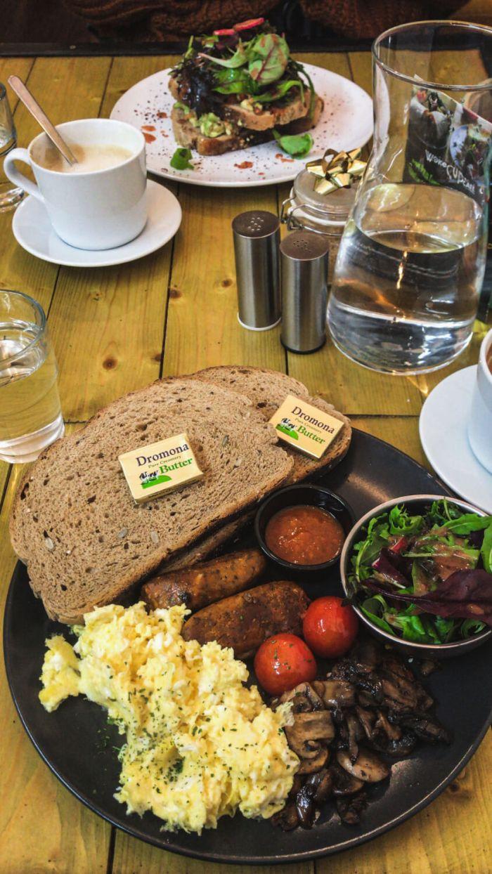 Frühstück, Brunch in Dublin, Food Guide, WokeCup Café