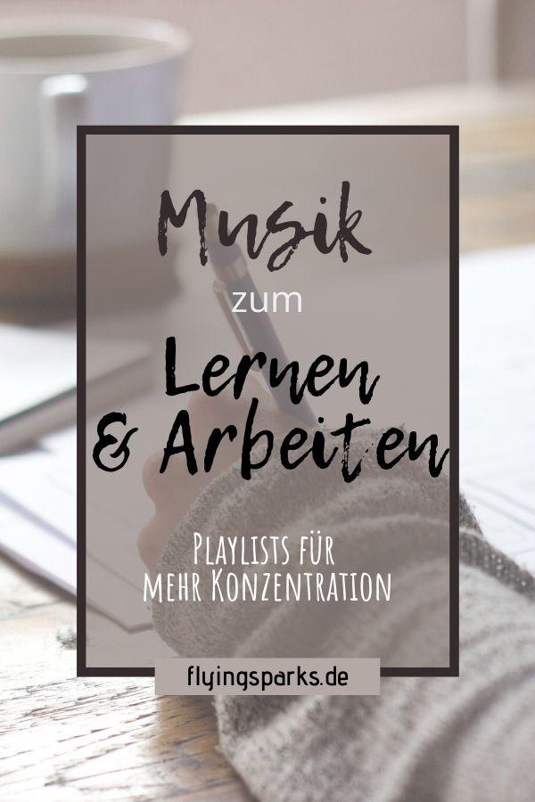 Musik zum Lernen, Arbeiten, Playlists für mehr Konzentration, Motivation, produktiv, Tipps, Spotify, Uni