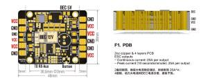 Matek 5 in 1 LED & Power Hub V3 PDB with 512V BEC & Buzzer   Flying Tech