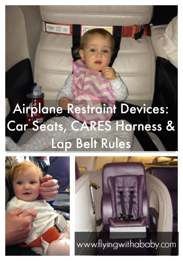 Airplane Restraint Devices Car Seats Cares Harness Amp Lap