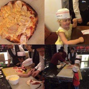 Destination Kuala Lumpur Pizza making at the Ritz Carlton KL, family travel