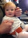 Infant lap belt CRD
